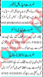 Mashriq Sunday Classified Ads 12th July 2020 Medical Staff
