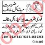 Nawaiwaqt Sunday Classified Ads 12th July 2020 Medical Staff