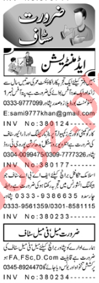 Accountant & Secretary Jobs 2020 in Peshawar
