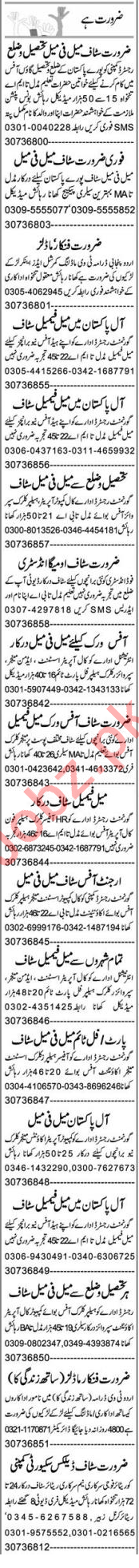 Assistant Manager & HR Officer Jobs 2020 in Lahore
