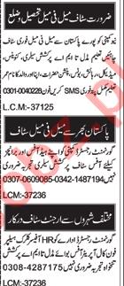 Cashier & Manager Jobs 2020 in Multan