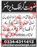 Graphic Designer Jobs 2020 in Darussalam Islamabad