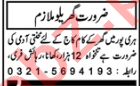House Staff Jobs 2020 in Haripur