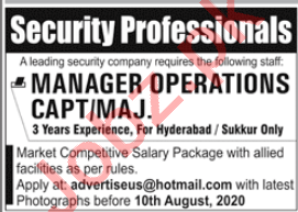 Manager Operations Jobs 2020 in Hyderabad