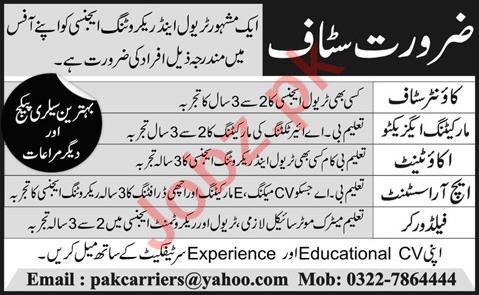 HR Assistant & Accountant Jobs 2020 in Karachi