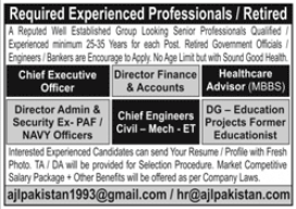 AJL Pakistan Jobs 2020 in Lahore