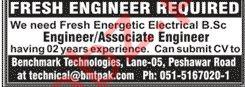 Electrical Engineer & Associate Engineer Jobs 2020