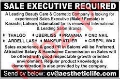 Sales Executive Jobs 2020 in Karachi
