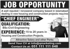 Marketing Company Jobs 2020 in Islamabad