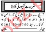 Khabrain Sunday Classified Ads 6 Sep 2020 for Security Staff