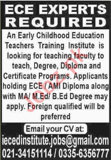 Early Childhood Education Teacher & ECE Expert Jobs 2020