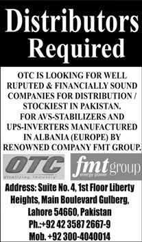 FMT Group Jobs 2020 for Distributors