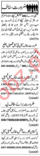 Web Developer & Media Assistant Jobs 2020 in Lahore