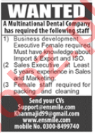 Business Development Executive & Sales Executive Jobs 2020