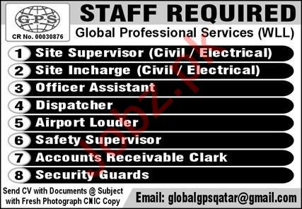 Safety Supervisor & Site Incharge Jobs 2020