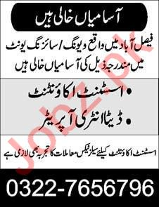 Data Entry Operator & Assistant Accountant Jobs 2020