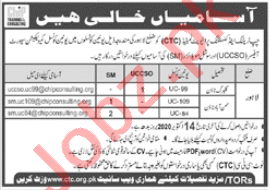CHIP Training & Consulting CTC Lahore Jobs 2020