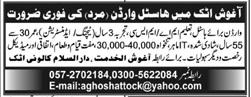 Hostel Warden Job 2020 in Attock