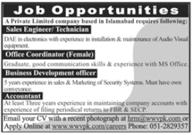 World Wide Vision Pakistan Jobs 2020 in Islamabad