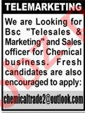 Telesales Officer & Marketing Officer Jobs 2020 in Karachi