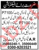 Electrician Jobs 2020 in A R Textile Mills Karachi
