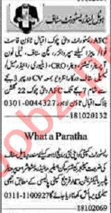 Dunya Sunday Classified Ads 18 Oct 2020 for Hotel Staff