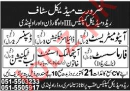 Redo Medical Complex Rawalpindi Jobs 2020 for Pharmacist