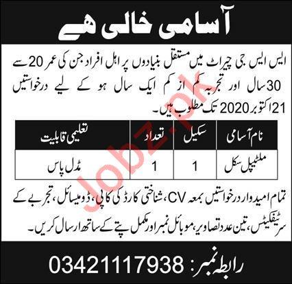 Special Service Group SSG Cherat Jobs 2020