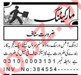 Customer Service Officer & Salesman Jobs 2020 in Peshawar