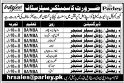 Cosmetics Sales Staff Jobs 2020