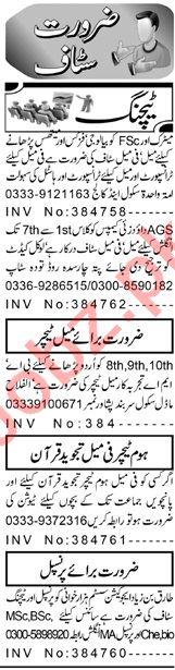 Teacher & Principal Jobs 2020 in Peshawar