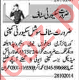 Security Executive & Security Incharge Jobs 2020 in Lahore