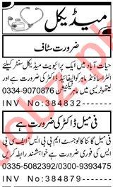 Female Gynecologist & Pharmacist Jobs 2020 in Peshawar