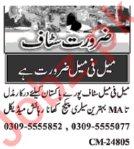 Call Operator & Assistant Manager Jobs 2020 in Islamabad
