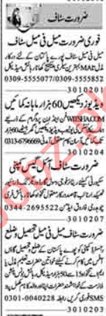 Accountant & Executive Manager Jobs 2020 in Lahore