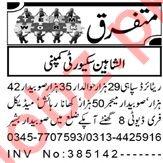 Security Supervisor & Security Guard Jobs 2020 in Peshawar