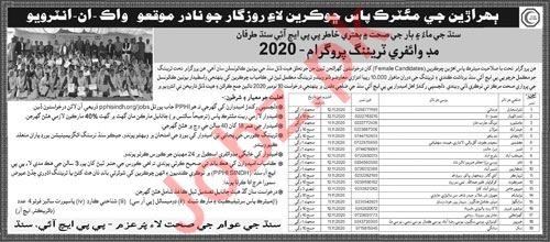 PPHI Sindh Jobs 2020 for Community Midwife
