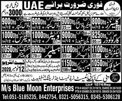 Semi Government Company Jobs 2020 in UAE