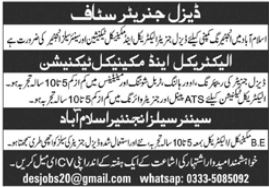Technical Staff Jobs 2020 In Islamabad