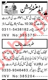 Female Receptionist & Office Assistant Jobs 2020 in Peshawar