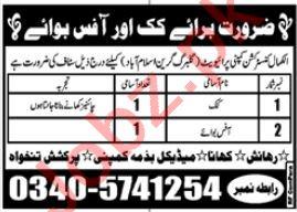 Al Kamal Construction Company Islamabad Jobs 2020