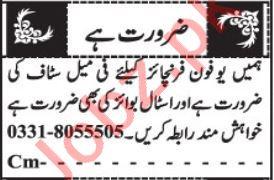 Lady Secretary & Front Desk Officer Jobs 2020 in Quetta