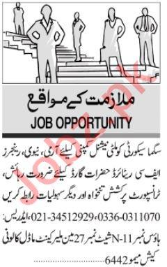 Security Supervisor & Security Chief Jobs 2020 in Karachi