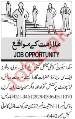Security Supervisor & Security Chief Jobs 2020 in Karachi