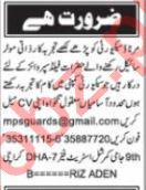 Security Admin & Lady Searcher Jobs 2020 in Karachi