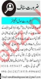 Nawab Housing Associates Peshawar Jobs 2020 for Engineer