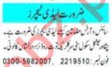 Lady Teacher & Subject Teacher Jobs 2020 in Peshawar