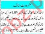 Lady Doctor & Staff Nurse Jobs 2020 in Peshawar