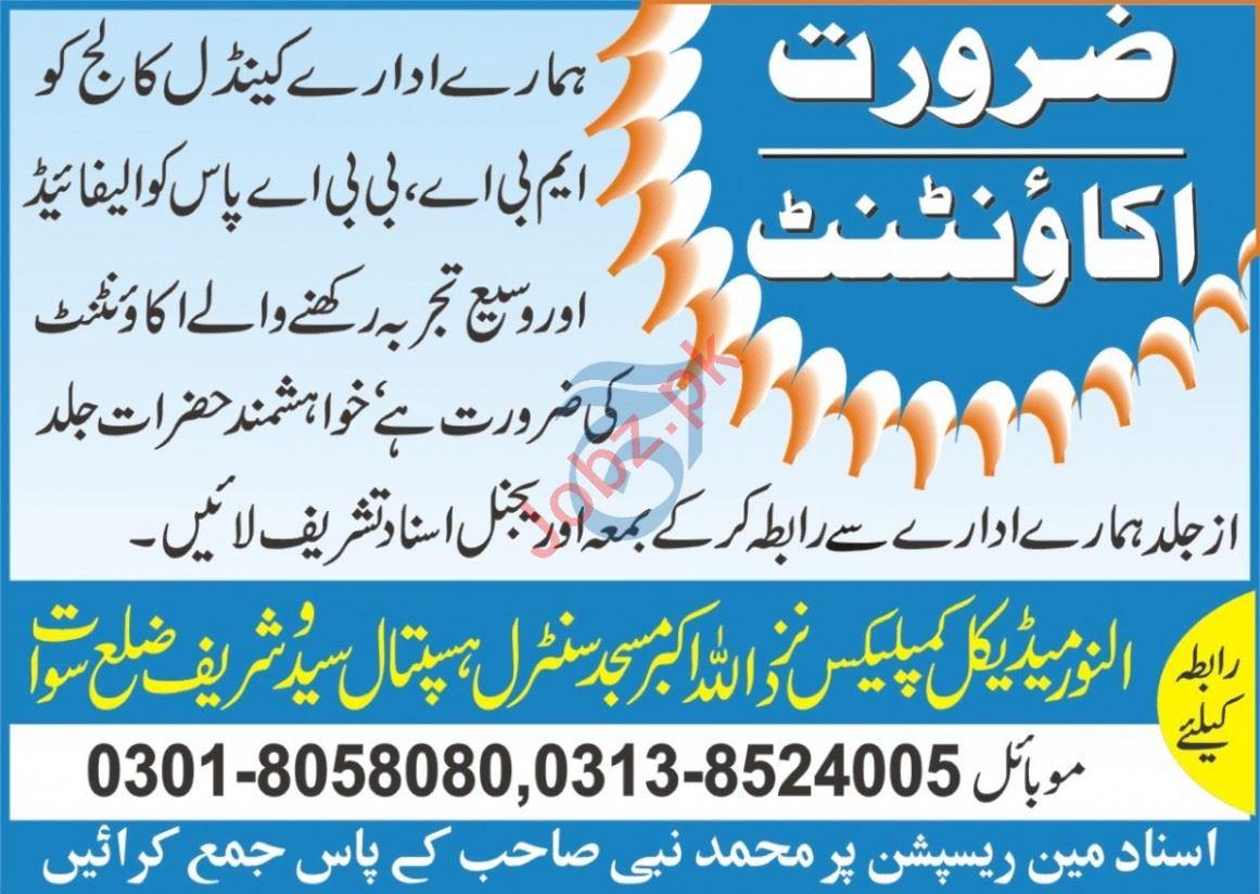 Candle College Saidu Sharif Swat Jobs 2020 for Accountant
