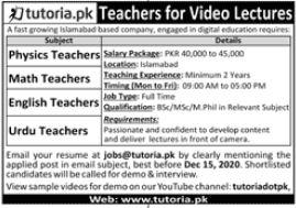 Teaching Staff Jobs 2020 in Rawalpindi